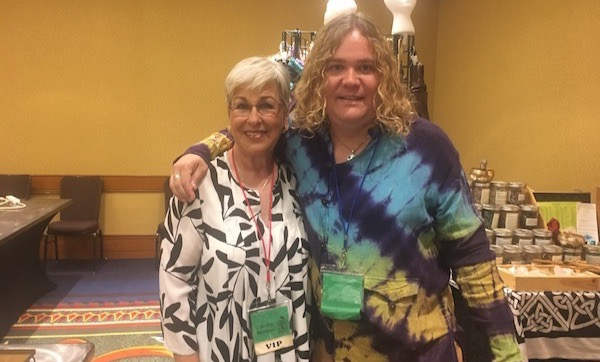 That's me with Dorothy Morrison!