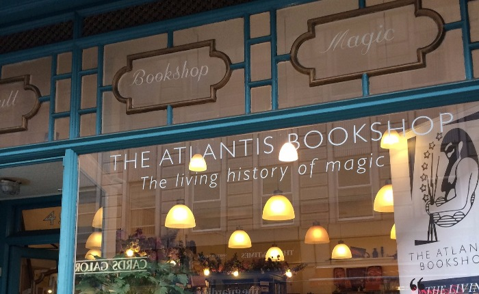 Atlantis Bookstore in London England.  One of my favorites!