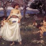Song of Springtime John William Waterhouse