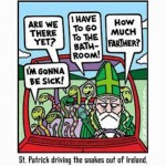 All Snakes Day, St. Paddy's and Modern Mythos
