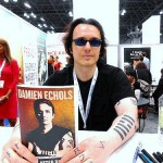 Damien Echols at a book signing.
