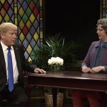 Church Lady Came Back To SNL w/Special Guests: Donald Trump and Ted Cruz