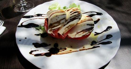 Caprese Salad by Daryl Mitchell