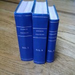 "My grandfather's 3-volume ""Mormon Doctrine."""