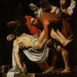 "Carvaggio's ""Entombment of Christ"" embodies his naturalistic reconstruction of biblical events, and emphasizes the living and corporeal nature of divinity."