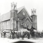 RLDS church in Lamoni, circa 1907. Courtesy of Alma Blair.
