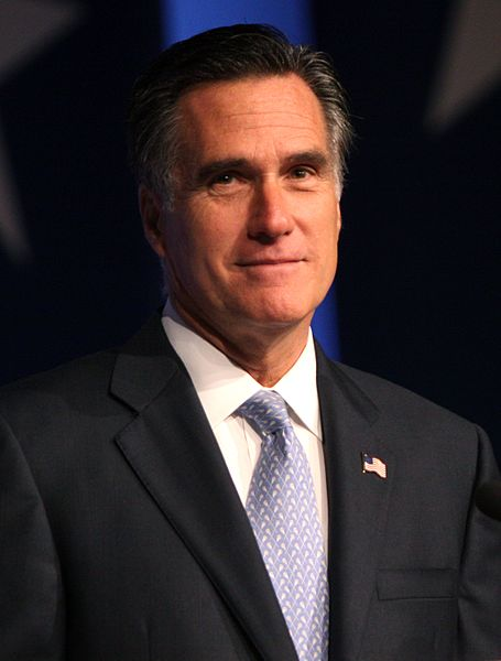 Former Massachusetts Governor Mitt Romney. Obtained through Creative Commons.