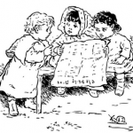children_reading_newspaper
