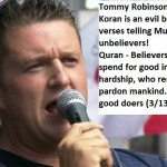 Answering Tommy Robinson's Lies About the Quran