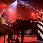 Christina Aguilera singing Merry Christmas Baby with Dr. John