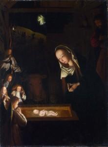 Birth of Jesus; Geertgen tot Sint Jans; c. 1490; oil on oak; National Gallery London