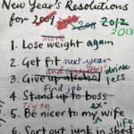 Struggling with resolutions doesn't mean you're failing, just human