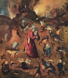 Hieronymus Bosch, The Temptation of St. Anthony, c. 1501.