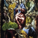 Pentecost, El Greco, 1596 (click image to see larger version)