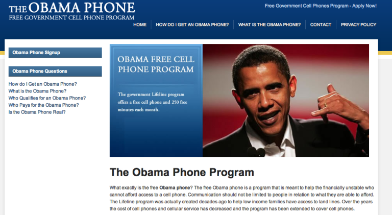 The Shady Ethics of 'The Obama Phone'