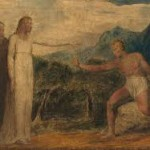 Christ Giving Sight To Bartimaeus, William Blake, 1799