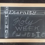 At the Intersection of Time and Eternity: Holy Week
