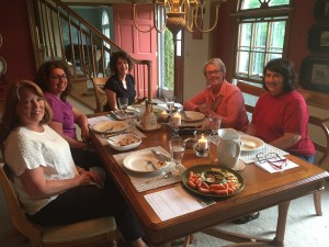 Our New Conversations group at a recent gathering.