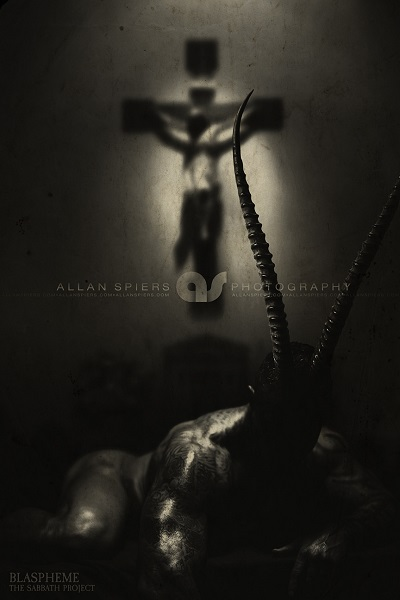 Blaspheme from The Sabbath.  By Allan Spiers. Used with permission. www.allanspiers.com/thesabbath