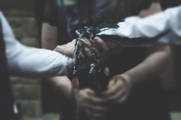The Handfasting of Mr. & Mr. Ward