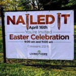 """Why """"Nailed It"""" Is a Poor Theme for an Easter Celebration"""