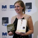 Eleanor Catton with Man Booker prize