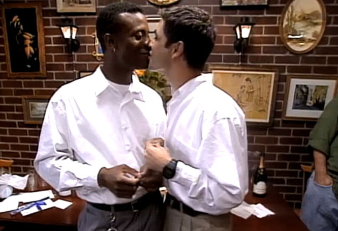 Pedro and Sean's commitment ceremony: never before seen on TV.