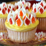 cupcakes for Pentecost from the Catholic Cuisine