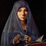 Antonello de Messina, Vierge de l'Annonciation, 1475. Public domain, commons.wikimedia.org