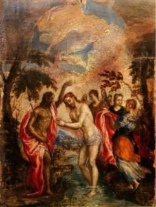 El Greco Baptism Jesus