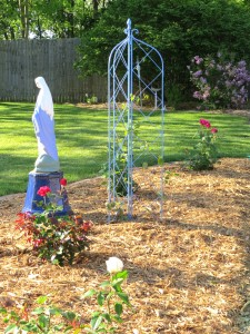 Marian Rose Garden Complete