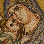 Jesus and Mary Mosaic