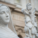 St. Rita of Casacia and the Lovely Lebanon Statue