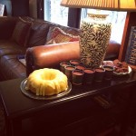 Kitchen Notes: Lemon Cake and Chocolate Pots