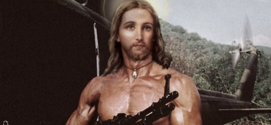 US General claims Jesus, armed with an assault rifle, will return