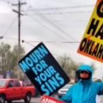 WBC Protest in Oklahoma Cut Short