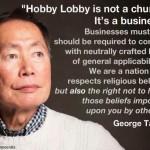 Takei hobby lobby
