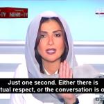 Lebanese television host Rima Karaki