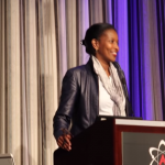 Ayaan Hirsi Ali at American Atheists Convention (screen grab)