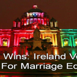 Ireland: Belfast City Hall LGBT Pride 2013 (Image via Twitter)