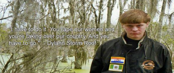 Dylann Storm Roof (Image via Facebook)