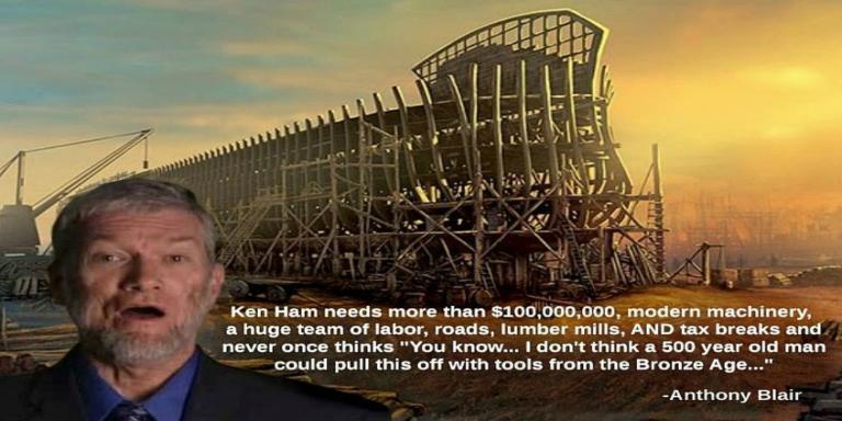 Ken Ham S Reconstruction Of Noah S Ark Demonstrates
