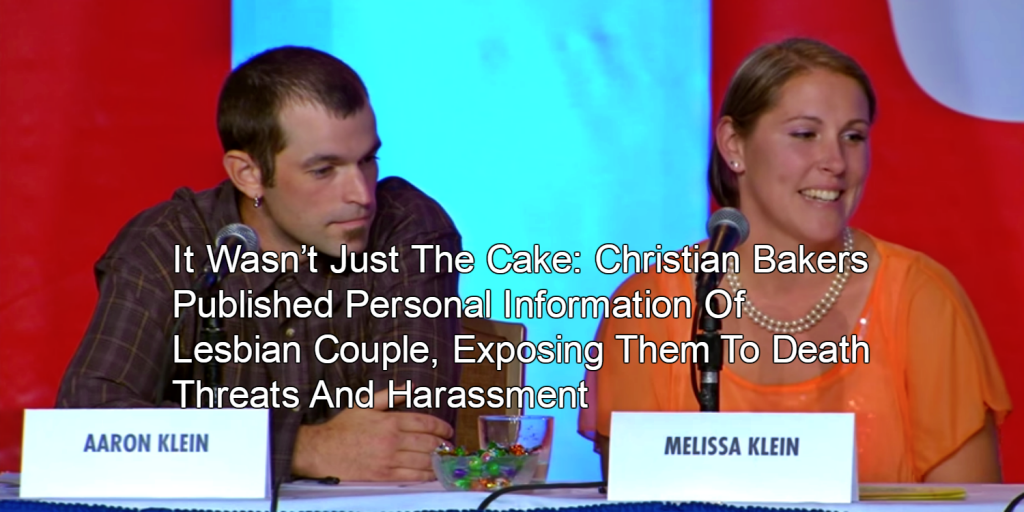 Bakery Fined For Not Making Cake For Gay Wedding