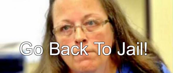 Report: Kim Davis Violated Judge's Order