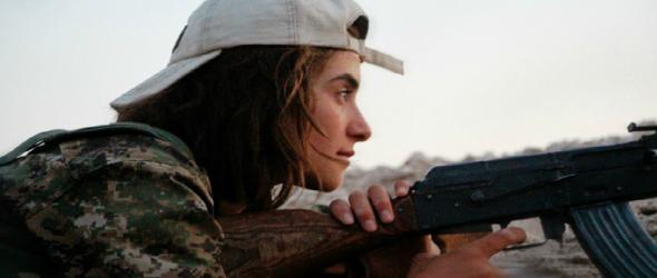 Kurdish Female Fighter (image via Flickr)