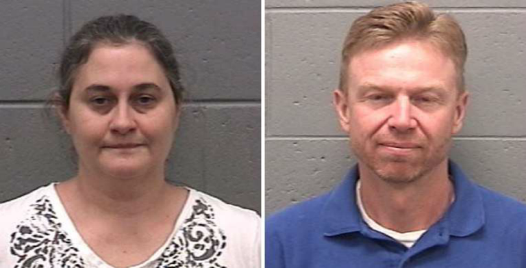 Diana and Samuel Franklin (Image via Taylor County Sheriff's Office)
