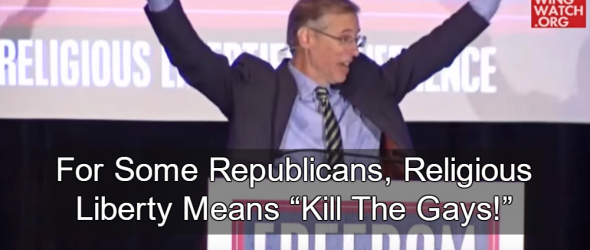 GOP Presidential Candidates Appear With Pastor Calling For Execution Of Gays