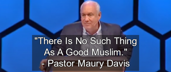 Megachurch Pastor Declares: 'There Is No Such Thing As A Good Muslim'