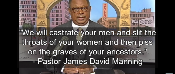 Pastor Tells Protesters: We Will Castrate Your Men and Kill Your Women