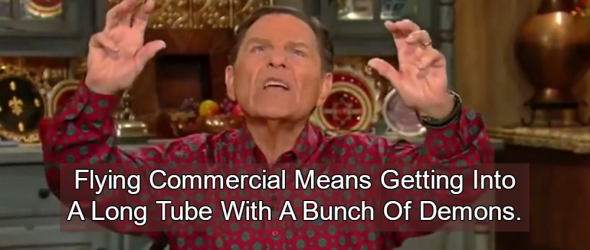 Televangelists Need Private Jets Because 'Demons' Fly Commercial